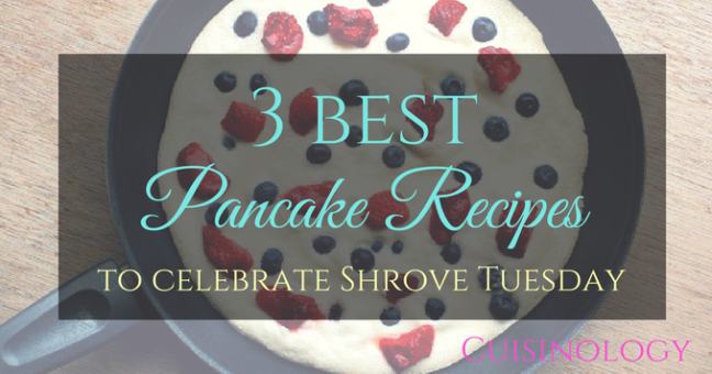 The best pancake recipes for breakfast on pancake day
